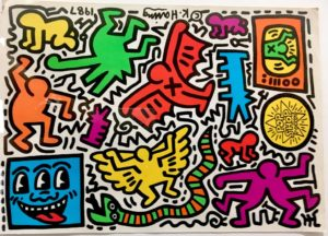 keith haring pop art graffiti 06