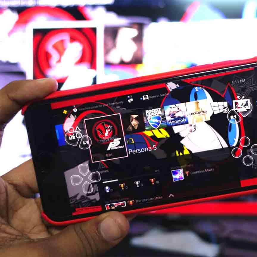 Remote-play-PS4-videogames-mobile