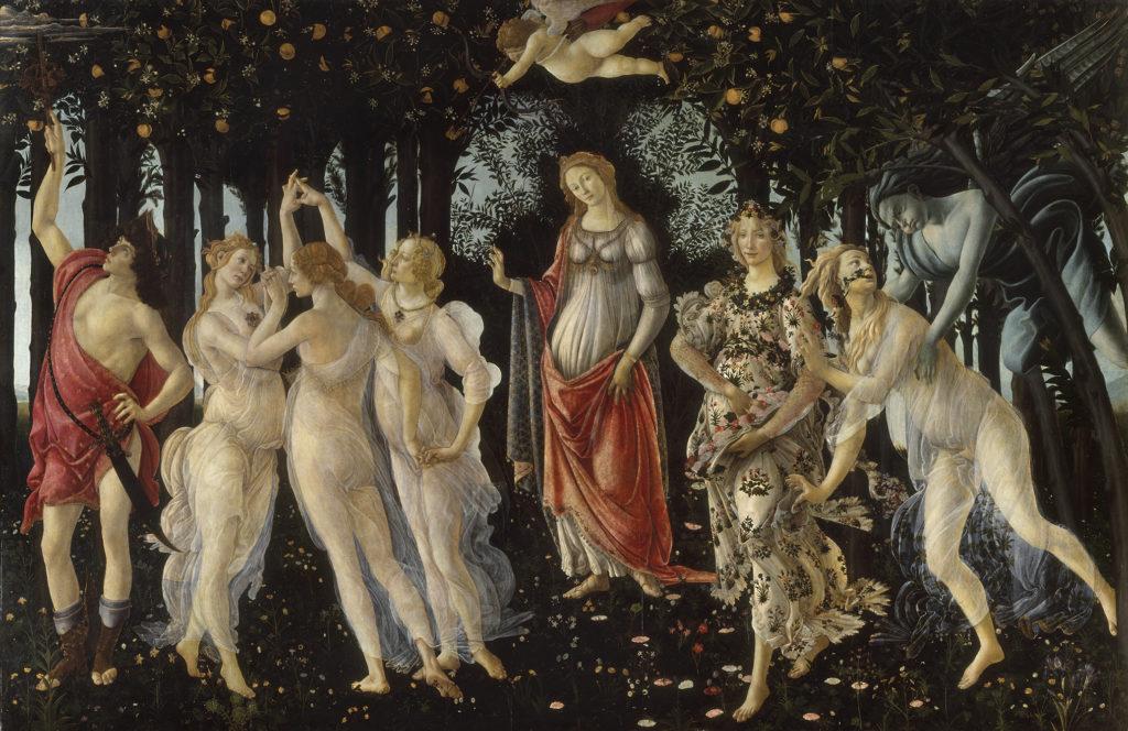 5396 Botticelli La Primavera