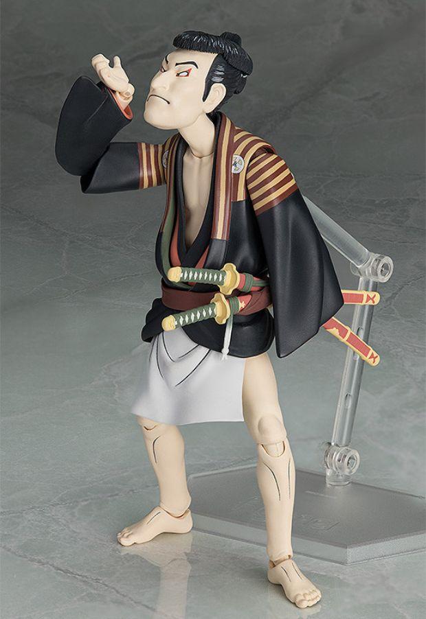 the table museum figma juguete diseno actor otani oniji III toshusai sharaku 02