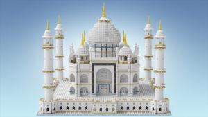 8 Taj Mahal lego