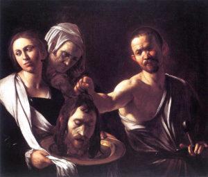 08-salome con la cabeza-de-juan-bautista-caravaggio-crea-cuervos-10-cuadros-perturbadores