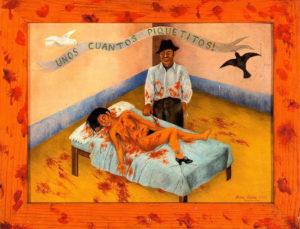 09-Unos-cuantos-piquetitos-Frida-Kahlo-crea-cuervos-10-cuadros-perturbadores