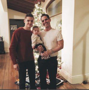 Robbie Rogers Greg Berlanti son Caleb