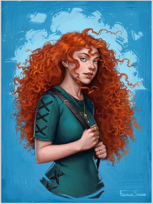 ilustradora-fernanda-suarez-disney-princesas