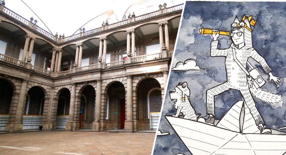 Ilustramdi-2019-ilustración-Palacio-de-Minería