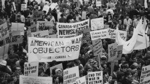 Protestas contra vietnam