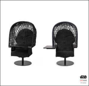 Kenneth Coboque star wars lucas films diseño muebles 01