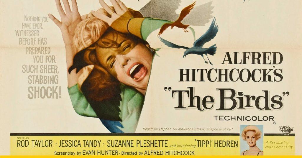 Los pájaros hitchcock
