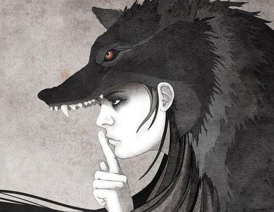 mujer loba
