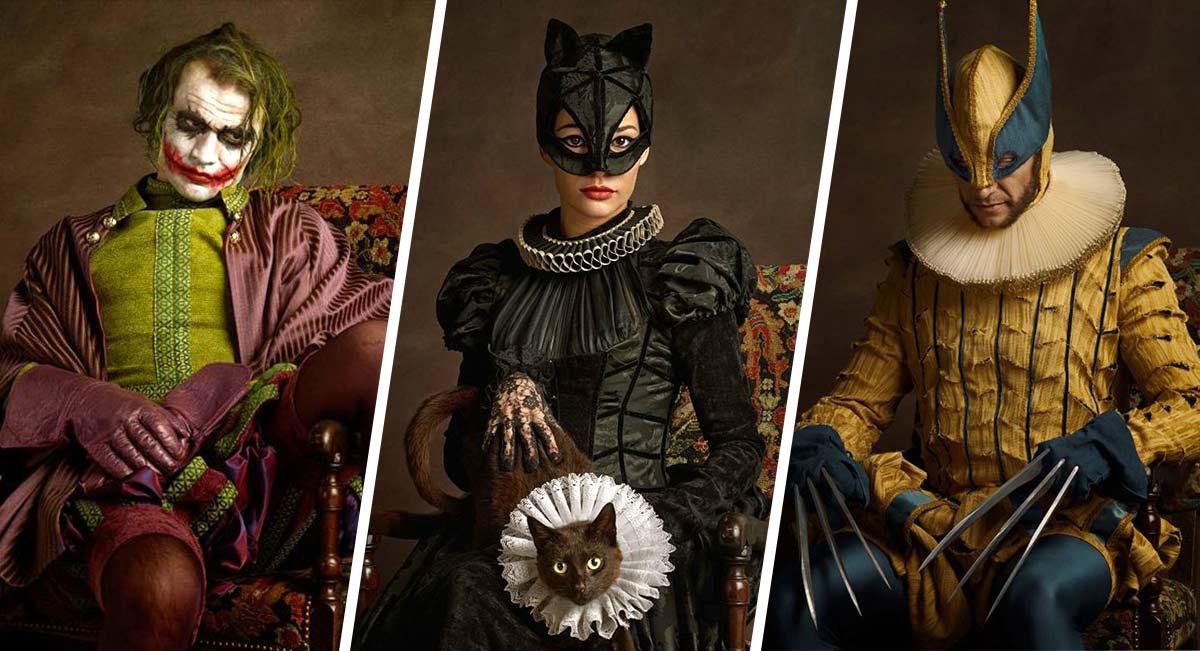 sacha-goldberger-retratos-siglo-xvii-super-heroes