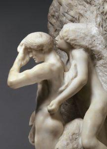 auguste-rodin-orfeo-y-euridice-escultura
