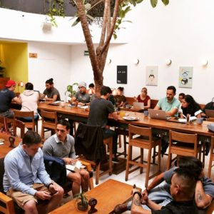 cafeteria blend station coworking condesa