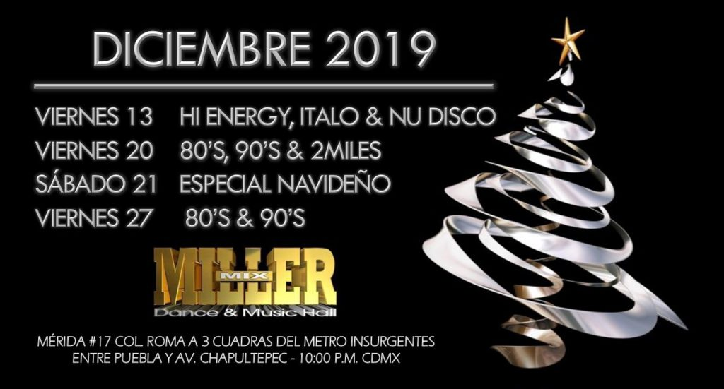 calendario patrick miller 2019
