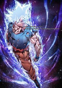 goku perfect instinct luis figueiredo art dragon ball
