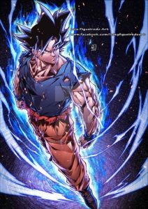 goku ultimate instinct luis figueiredo art dragon ball