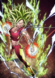 kefla luis figueiredo art dragon ball