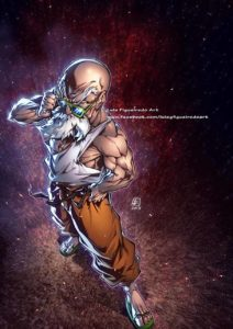 master roshi luis figueiredo art dragon ball