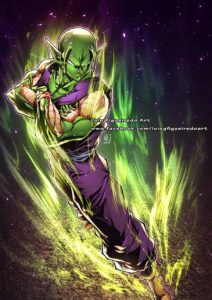 piccolo luis figueiredo art dragon ball