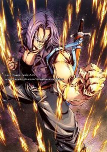 trunks luis figueiredo art dragon ball