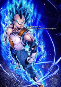 vegeta luis figueiredo art dragon ball
