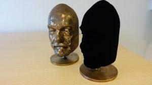 Vantablack máscara material negro oscuridad