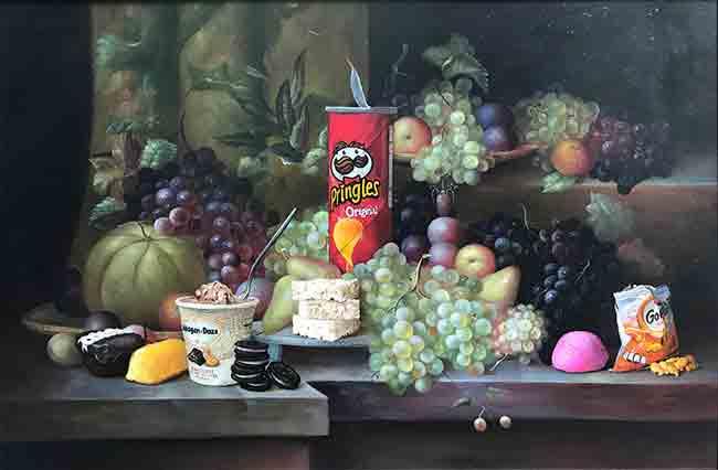 dave-pollot-combina-cuadros-del-siglo-xvii-con-famosos-personajes-de-la-cultura-pop