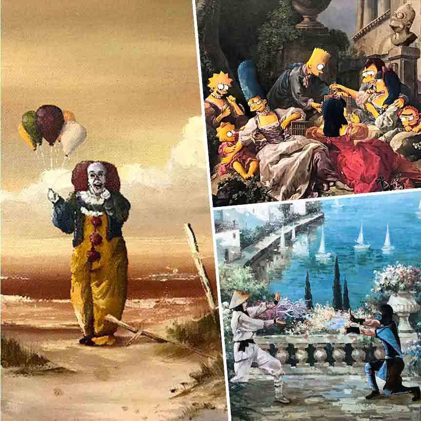 dave-pollot-combina-cuadros-del-siglo-xvii-con-famosos-personajes-de-la-cultura-pop-mobile