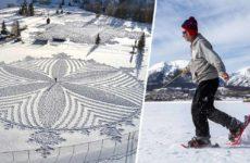 los-gigantescos-disenos-sobre-la-nieve-de-simon-beck