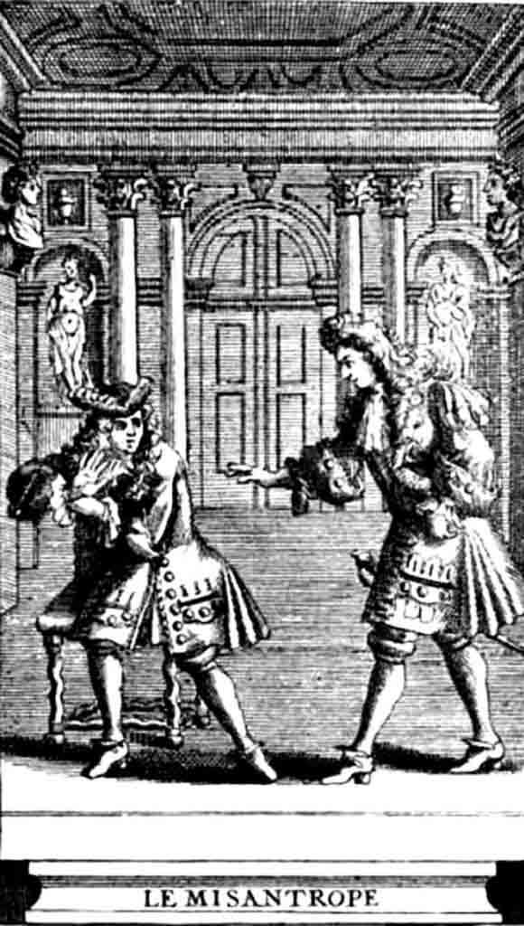 Grabado-LeMisanthrope-1719