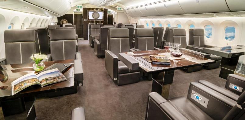 avión presidencial interior