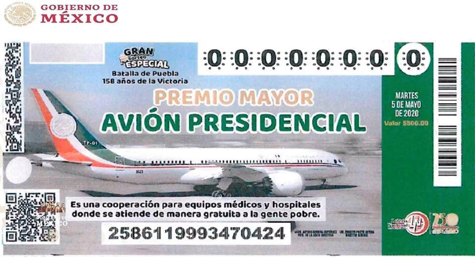 cachito del avión presidencial