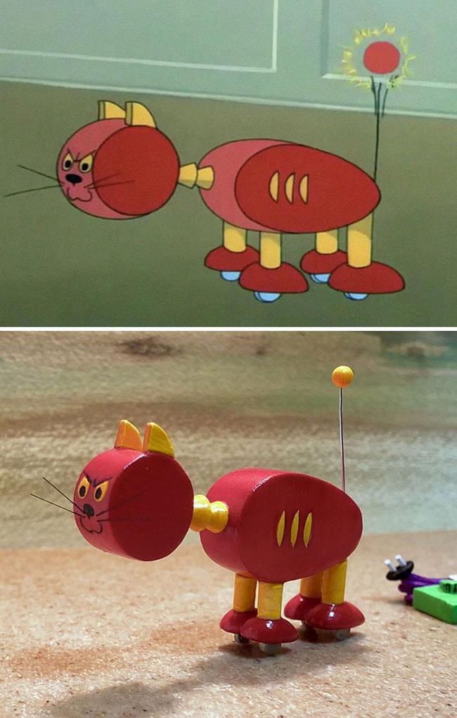 divertidas-esculturas-inspiradas-en-momentos-de-tom-y-jerry