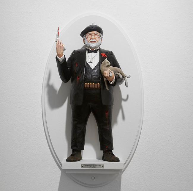 francis-ford-coppola-figuras-surrealistas-de-directores-famosos-de-mike-leavitt
