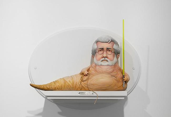 george-lucas-figuras-surrealistas-de-directores-famosos-de-mike-leavitt