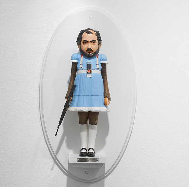 stanley-kubrick-figuras-surrealistas-de-directores-famosos-de-mike-leavitt