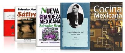 salvador novo libros