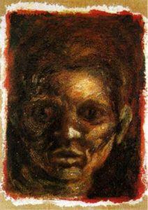 Autorretrato-Jackon Pollock-Pintor-Artista-Expresionismo Abstracto-Vanguardias