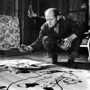 Dripping-Jackson Pollock-Pintor-Artista-Expresionismo Abstracto