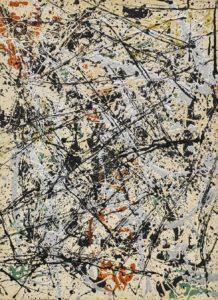 no. 32, 1949-Jackson Pollock-Pintor-Artista-Expresionismo Abstracto