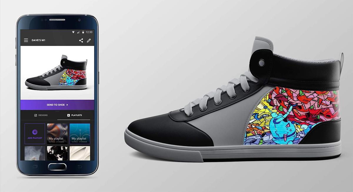 shiftwear-los-sneakers-con-animaciones-y-diseños-intercambiables-desde-una-app-