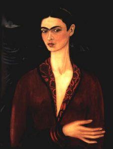 Autorretrato-1926-Frida-Kahlo