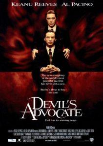 El abogado del diablo, Al Pacino, Keanu Reeves y Charlize Theron - Portada