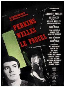 El proceso 1962 Anthony Perkins, Orson Welles - Portada