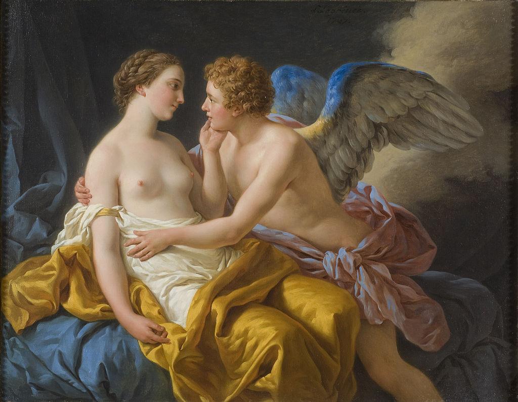 Eros y Psique Louis Jean Francois Lagrenée