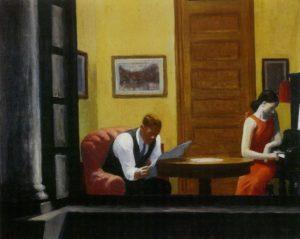 Habitación en Nueva York-1932-Edward-Hopper