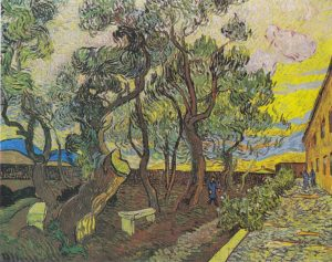 Jardín del Hospital Saint-Paul-Vincent-Van-Gogh