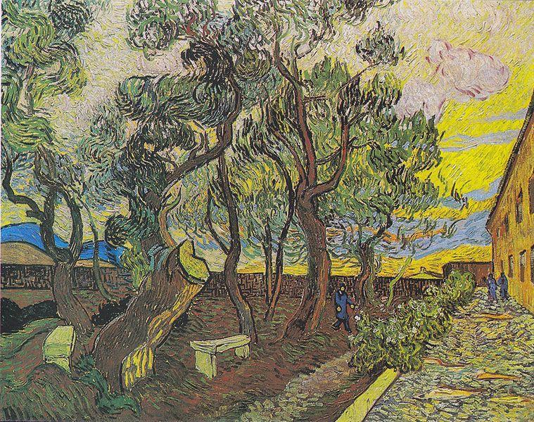 Jardín del Hospital Saint-Paul-Vincent-Van-Gogh