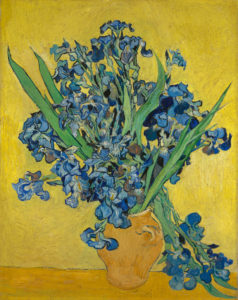 Jarrón con Lirios-1889-Van Gogh