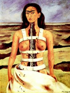 La columna rota-1944-Frida-Kahlo